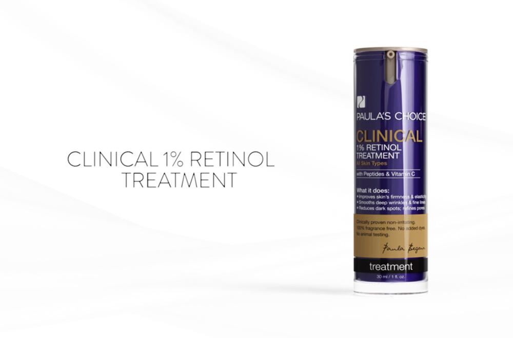 Tinh Chất 1% Retinol Dành Cho Da Lão Hóa Paula's Choice Clinical 1% Retinol Treatment 30ml