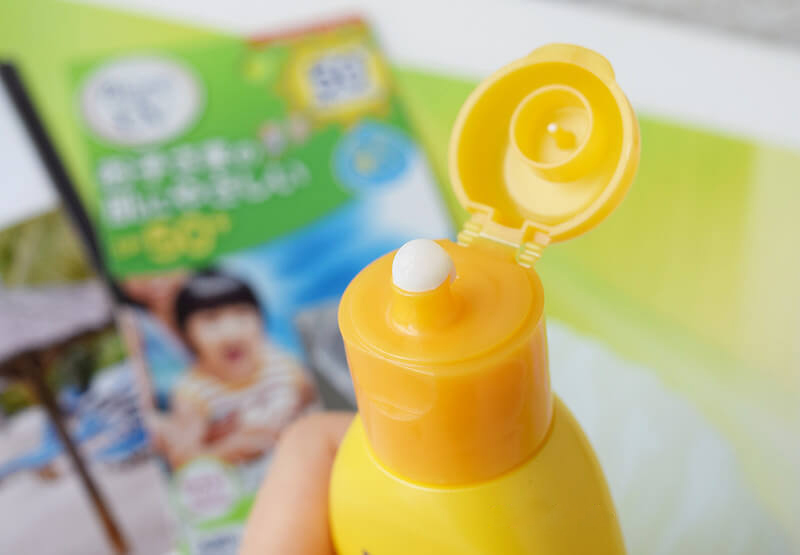 Sữa Chống Nắng Bioré Cho Bé UV Kids Milk SPF50+/PA++++ 1