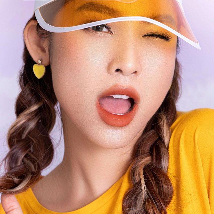 Kết quả hình ảnh cho Son Kem Lì 2 Đầu Lemonade 04 Honey