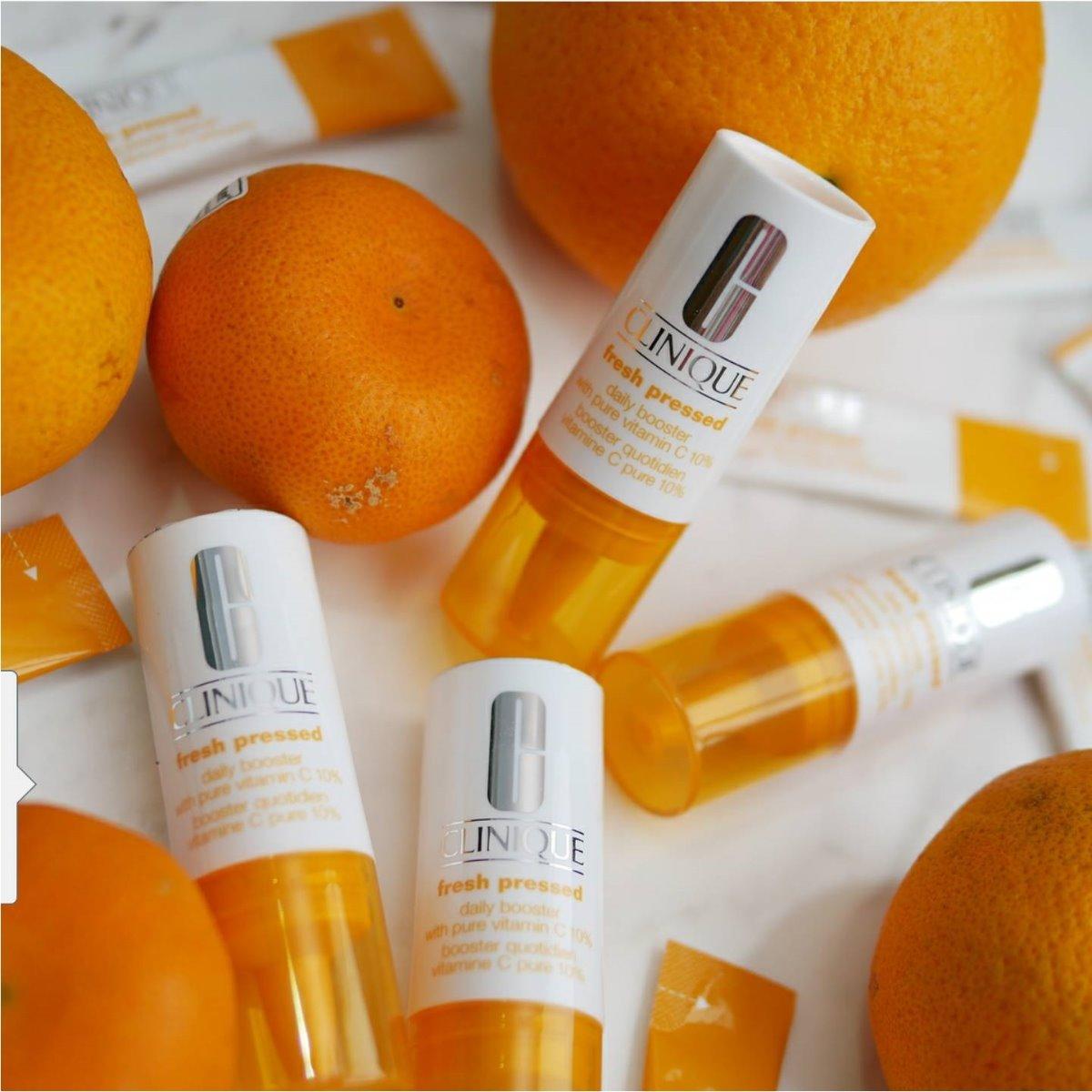 Serum Vitamin C tự nhiên là một sự lựa chọn tối ưu cho chu trình trị mụn an toàn cho bà bầu