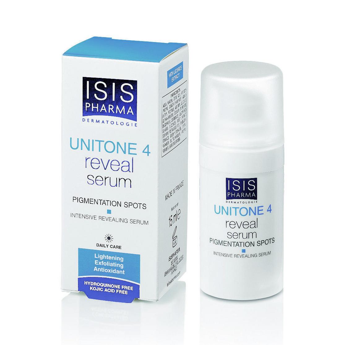 Serum trị nám Isis Pharma Unitone 4 Reveal Serum 15ml