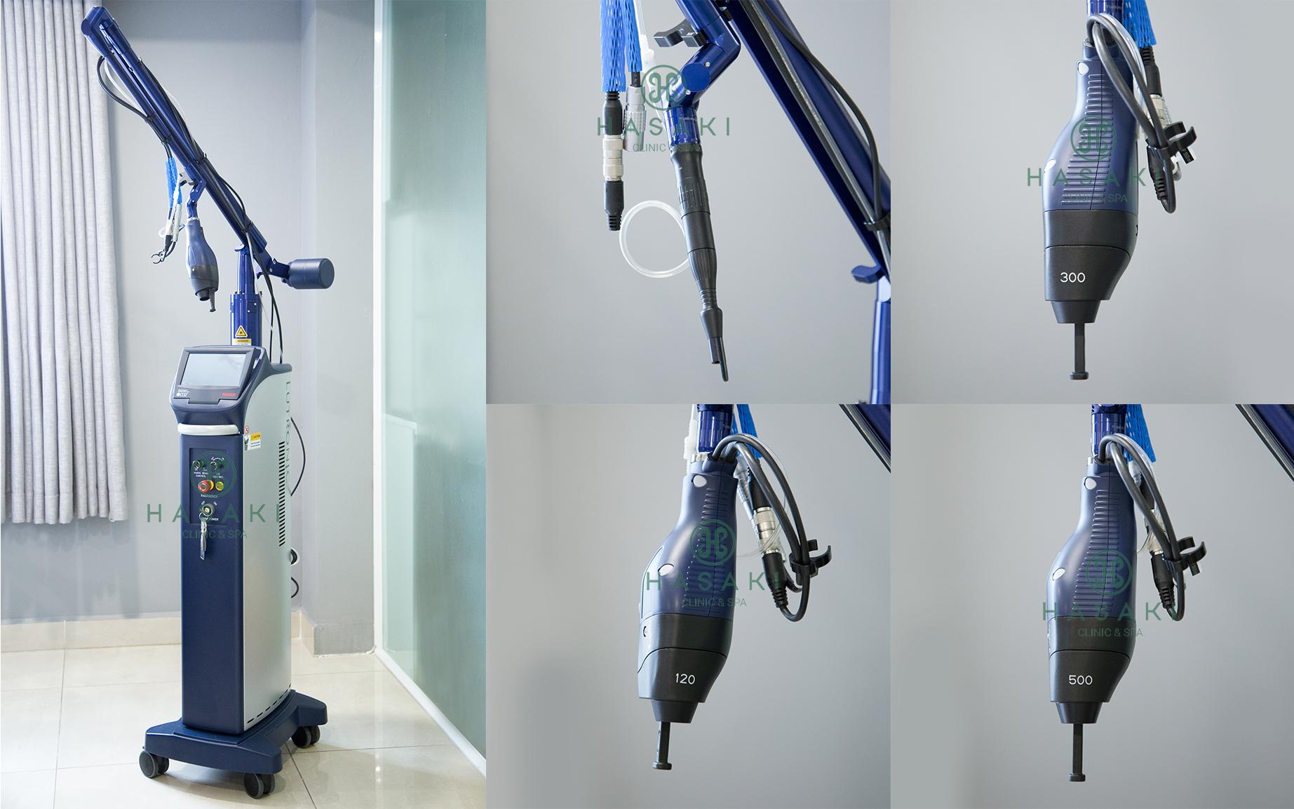 Công nghệ Laser Fractional CO2 tại Hasaki Clinic & Spa
