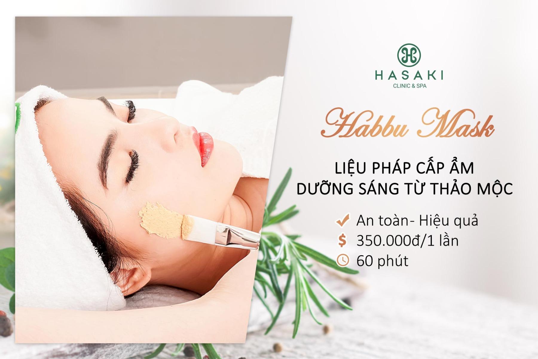 Chăm Sóc Da Mặt Với Thảo Mộc Habbu Habbu Facial Care