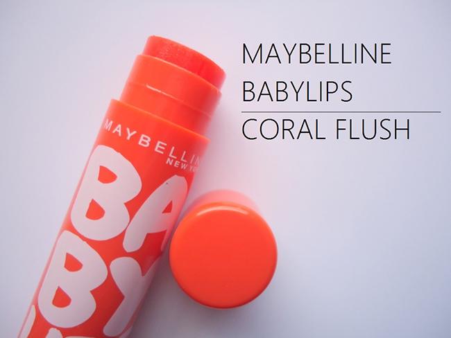 Son Dưỡng Môi Có Màu 4.5gr Baby Lips Coral