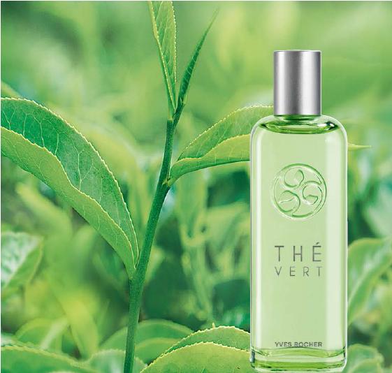 Nước Hoa Nữ Yves Rocher The Vert Green Tea EDT 20ml