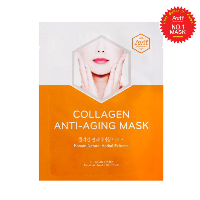 Mặt Nạ Dưỡng Da Chống Lão Hóa Collagen Anti-age Face Mask