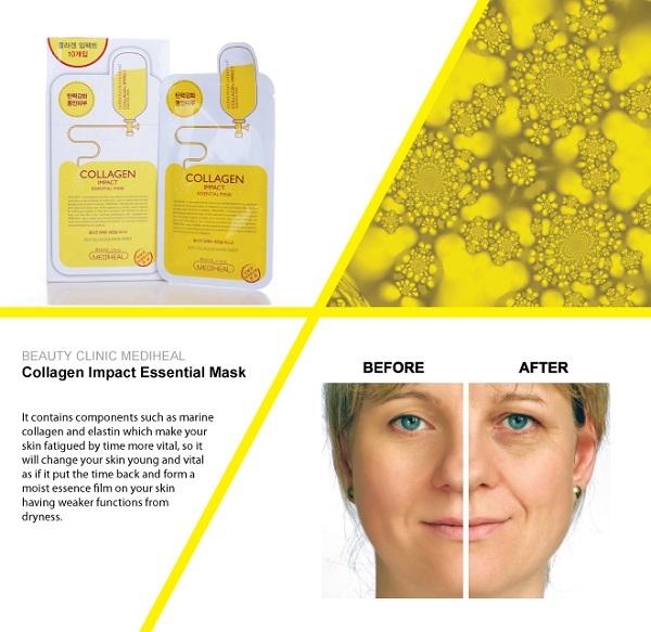 Mặt Nạ Dưỡng Da Phục Hồi Collagen Impact Essential Mask