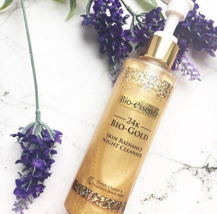 Sữa Rửa Mặt Tinh Chất Vàng 24K Bio Gold Skin Radiance Night Cleanser