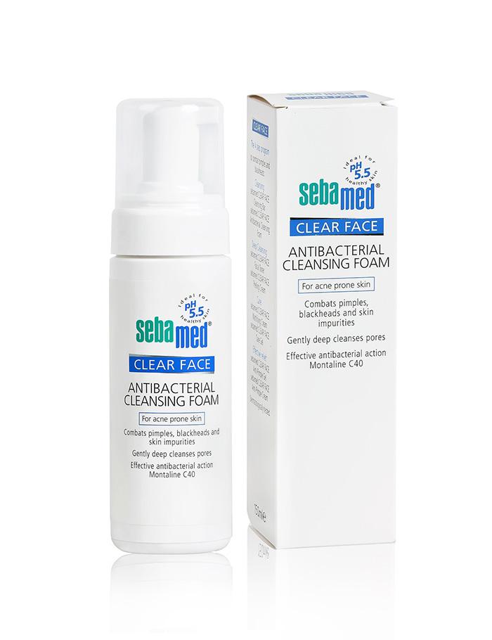 Sửa Rửa Mặt Sebamed Clear Face Antibacterial Cleansing Foam 50ml