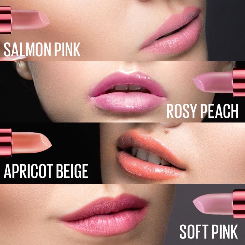 Son Màu Lâu Phai Rosy Matte - Mat 4 Apricot Beige