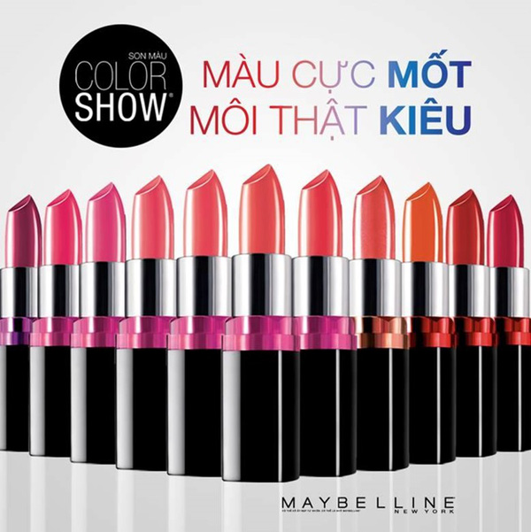 Son Màu Mượt Môi Color Show M013 Crushed Candy
