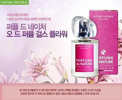 Nước hoa nữ Nature Republic Perfume de Nature Girl's Flower EDP 30ml
