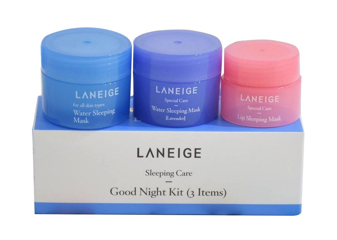 Bộ Kit Mặt Nạ Ngủ Cho Môi Và Mặt Sleeping Care Good Night Kit