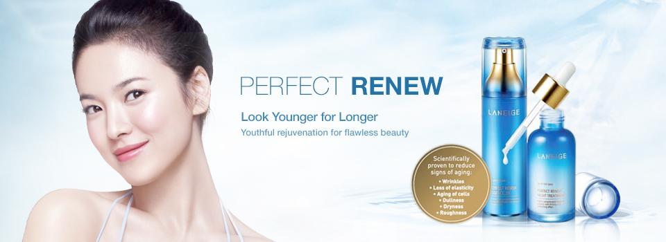 Nước Cân Bằng Laneige Ngăn Ngừa Lão Hoá Da Perfect Renew Skin Refiner – Miniature