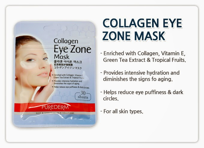 Mặt Nạ Dưỡng Mắt Collagen 30 Sheet