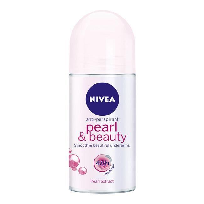 Lăn khử mùi ngọc trai Pearl & Beauty 48h