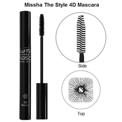 Mascara Làm Dày Mi More style 4D - 7g