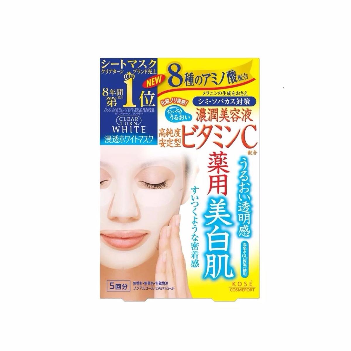 Clear Turn White Mask Vitamin C