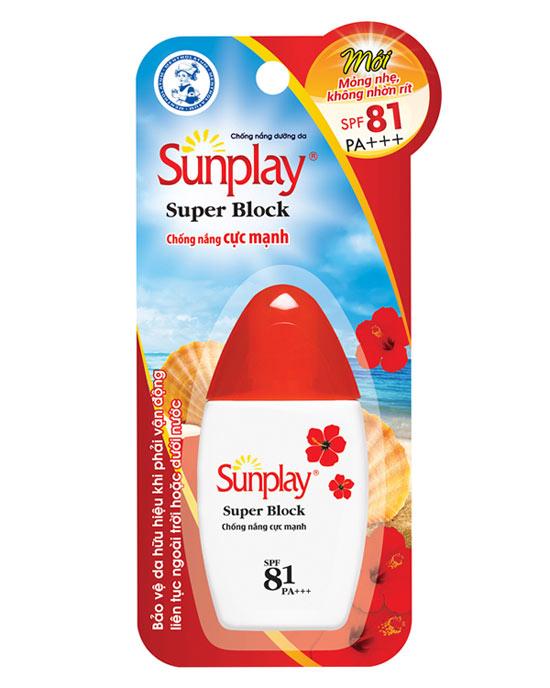 Sữa Chống Nắng SPF81 PA++++ Sunplay Super Block 70g