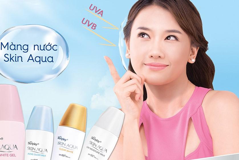 Tinh Chất Chống Nắng Dưỡng Trắng Da Skin Aqua Silky White Essence SPF50+ PA++++